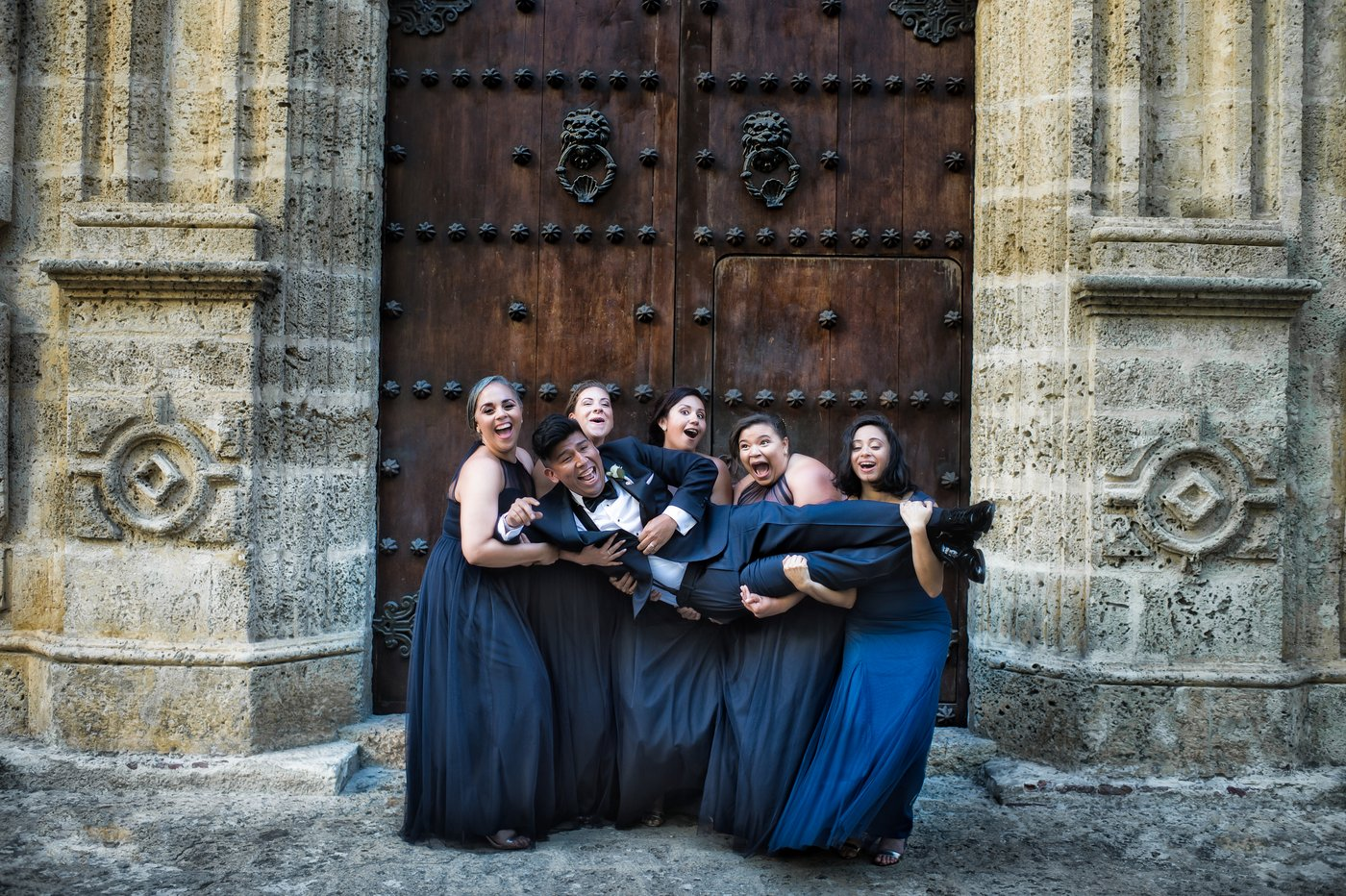 A truly unforgettable weekend in Cartagena with the craziest and most amazing bridal party, Miami Wedding Photographers | Häring Photography, Indian Wedding Photographer in Florida, Best Muslim, Hindu - South East Asian Wedding Photographers
