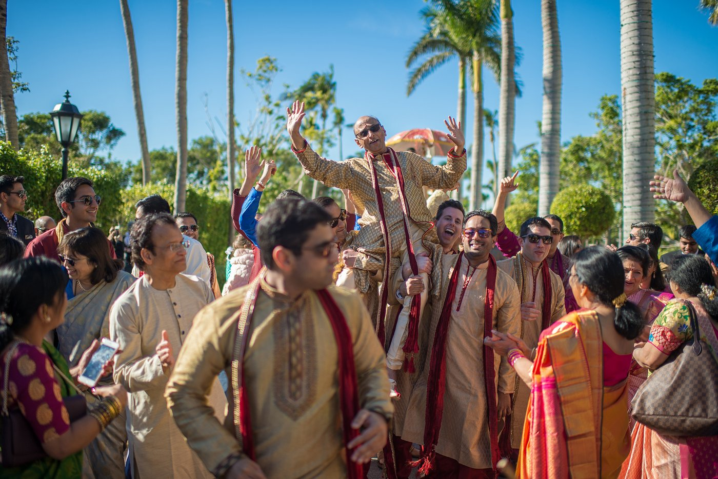 Key Biscayne Indian Wedding Baraat Photos, Miami Wedding Photographers   Häring Photography, Indian Wedding Photographer in Florida, Best Muslim, Hindu - South East Asian Wedding Photographers
