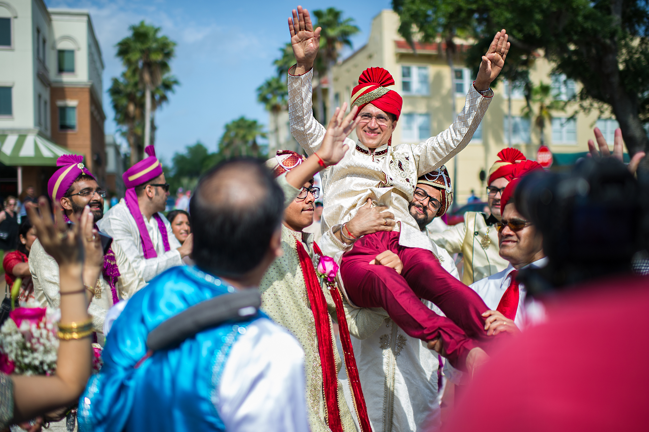 Baraat at Indian Weddings – Indian Wedding Traditions, Miami Wedding Photographers | Häring Photography, Indian Wedding Photographer in Florida, Best Muslim, Hindu - South East Asian Wedding Photographers